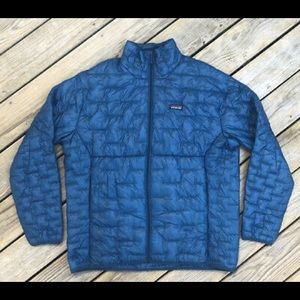 Patagonia Men's Micro Puff Jacket blue